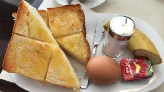菊地珈琲の厚焼きトースト