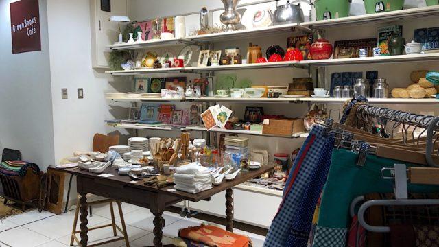 ブラウンブックスカフェのPop-up Store