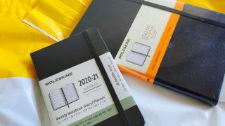 札幌ロフトで買ったモレスキンのダイアリーとクラシックノートブック
