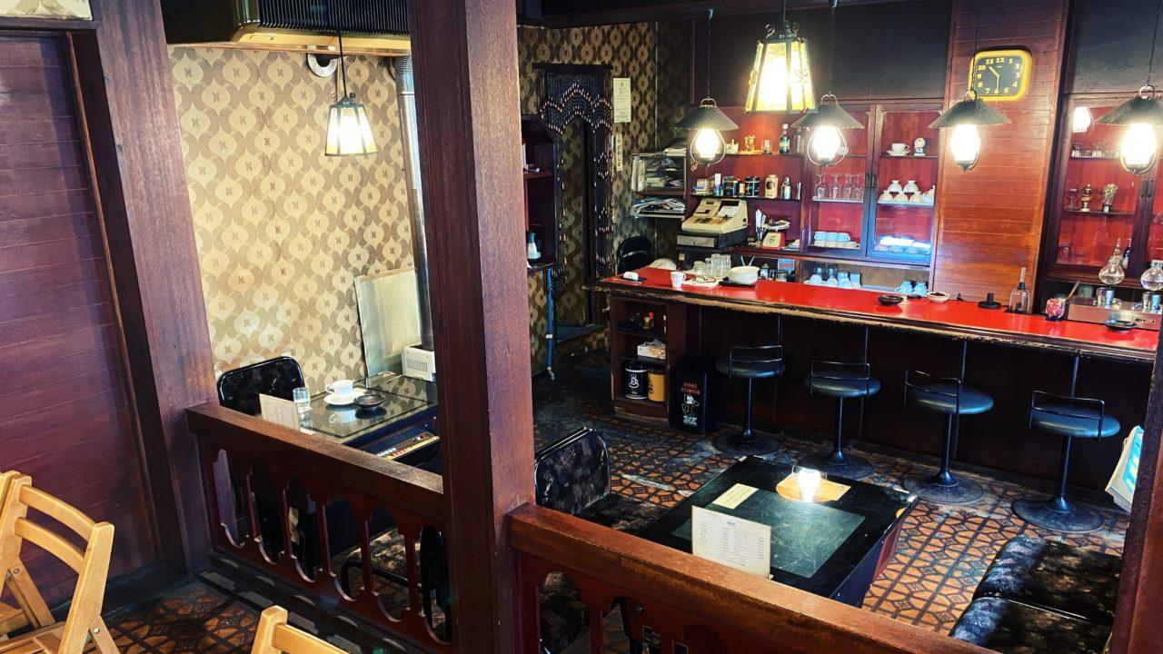 札幌の昭和レトロなカフェ「喫茶キング5」でモーニングコーヒー