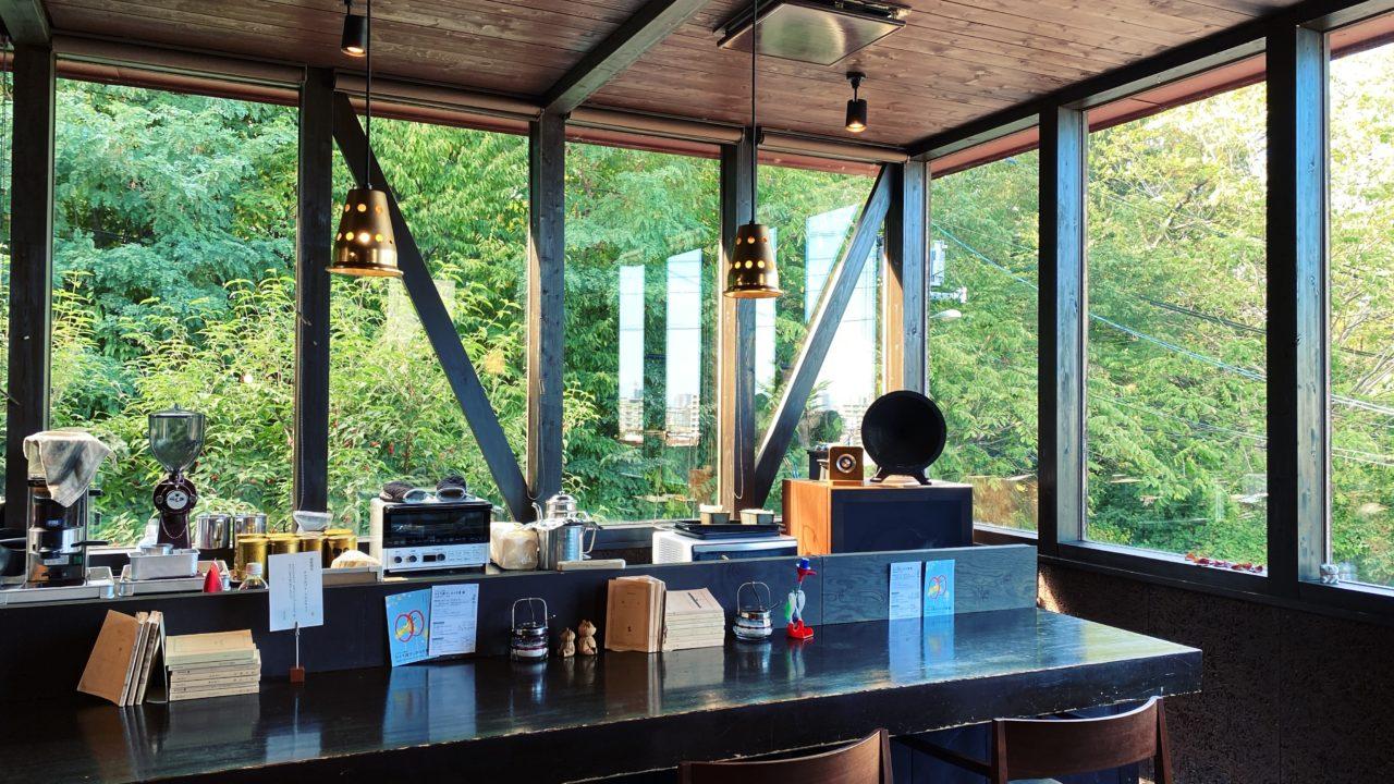 「喫茶つばらつばらクラシック」藻岩山のカフェでナポリタンのランチ