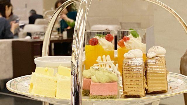 JRタワーホテル日航札幌「ロビーラウンジ」のアフタヌーンティーセットはコスパ高!
